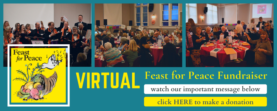 Join Seattle Peace Chorus at our Feast for Peace